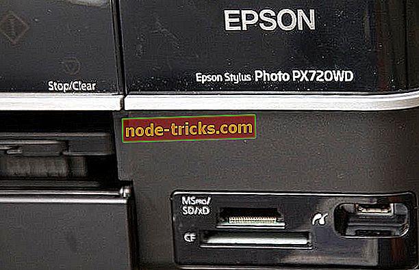 Устройства чтения карт памяти Epson недоступны в Windows 8, 10