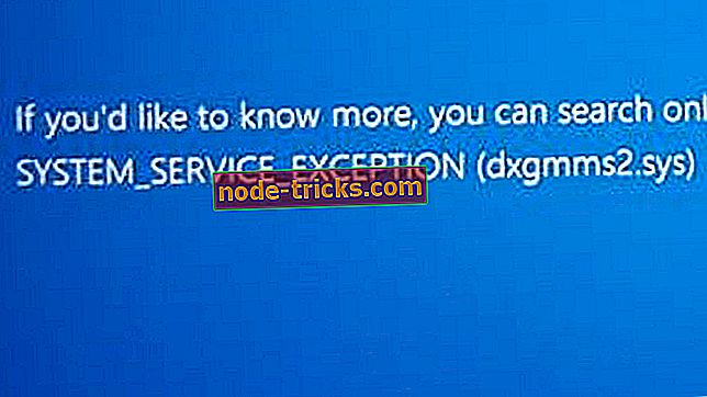 Fix: SYSTEM_SERVICE_EXCEPTION feil i Windows 10
