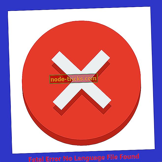 Fatálna chyba Žiadny jazykový súbor nájdený problém?  Skúste tieto opravy