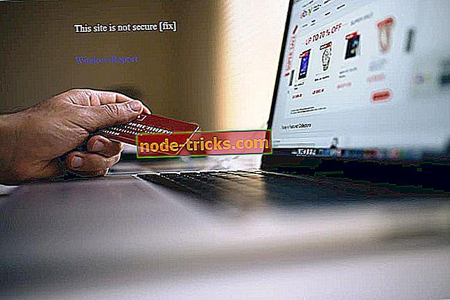 See sait ei ole turvaline: kuidas seda viga Chrome, Edge, Firefox, Opera ja IE-s parandada