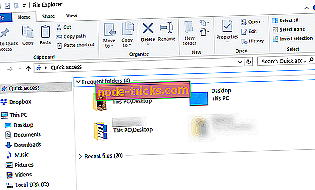 FIX: File Explorer jookseb paremale klõpsule
