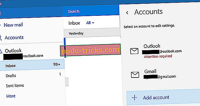 Løs: Windows Mail App Holder Krasj