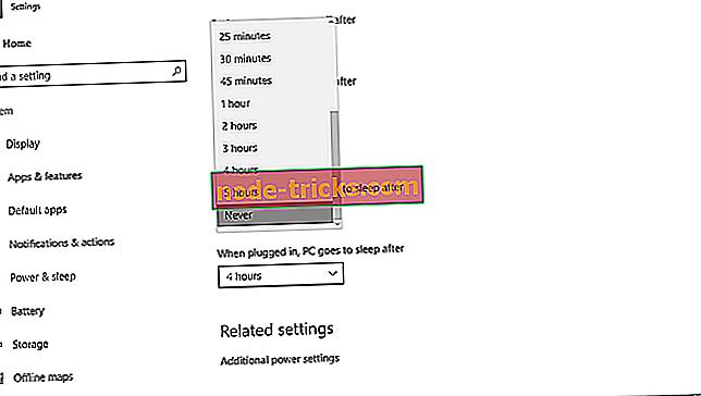 Korjaus: PC ei poistu lepotilasta