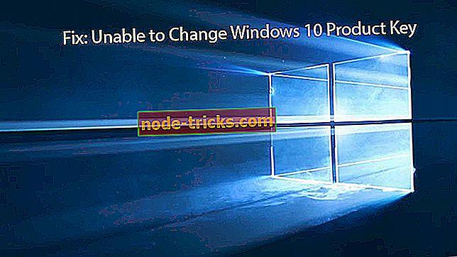 FIX: Неможливо змінити ключ продукту Windows 10