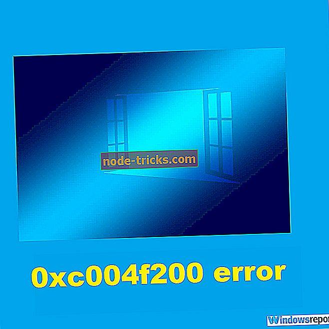 Ce trebuie să faceți dacă primiți eroare 0xc004f200 pe Windows 10 / 8.1 / 7