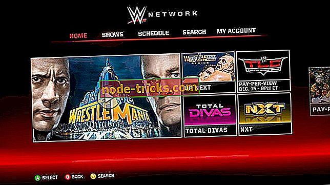 Løs: WWE Network Xbox One-feil