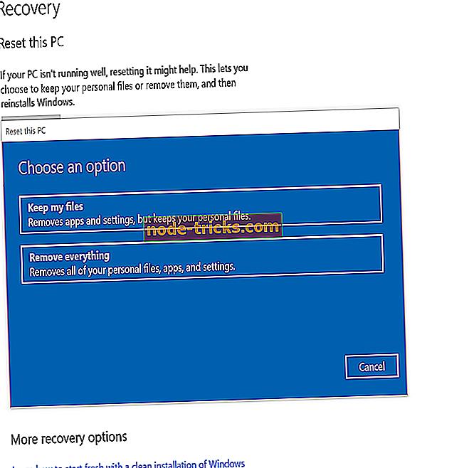 miten - Uuden Reset this PC -apuohjelman käyttö Windows 10 19H1: ssä