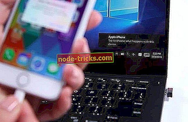 Popravi: ne može učitati fotografije s uređaja iPod / iPad na Windows 10, Windows 8.1