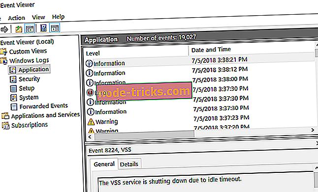 Як очистити журнал подій у Windows 10, 8, 8.1, 7
