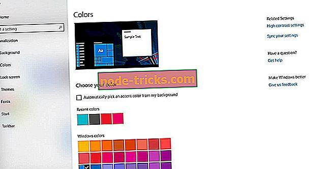 A Windows 10 ablak színeinek és megjelenésének módosítása
