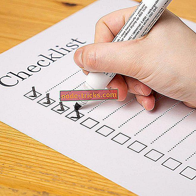 5 automatisert sjekkliste programvare for å øke lagets produktivitet