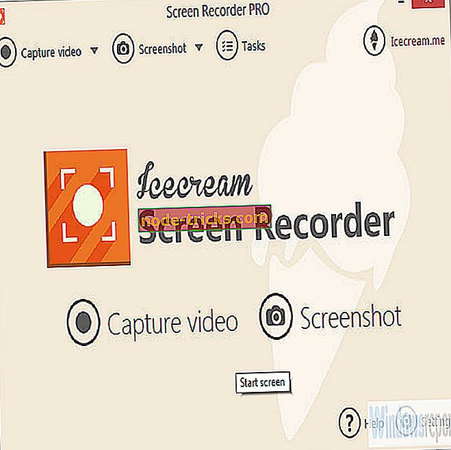 Lae alla IceCream Screen Recorder Windowsi jaoks