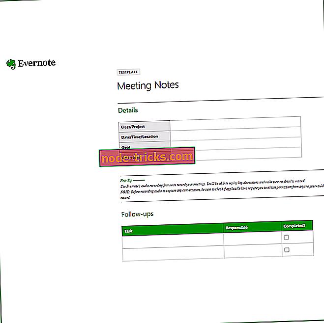 ohjelmisto - Lataa Evernote-sovellus Windows 10: lle [Lataa linkki ja tarkista]