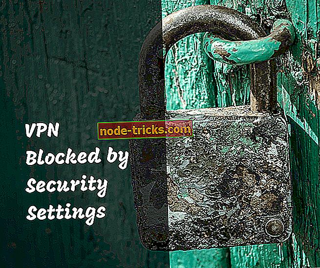 vpn - Løst: VPN-applikasjon blokkert av sikkerhetsinnstillinger
