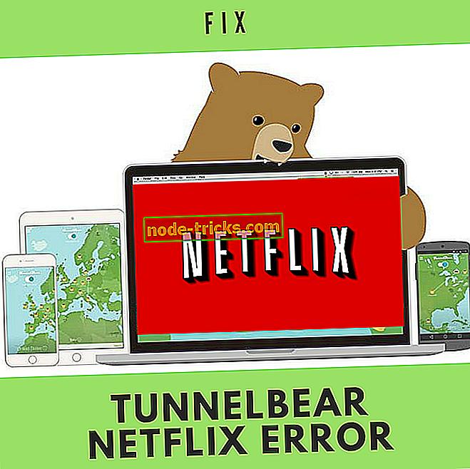 FIX: TunnelBear VPN Netflix feil