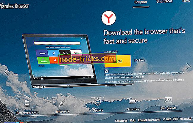 Šeit ir 6 no labākajiem VPN, kas paredzēti Yandex pārlūkam