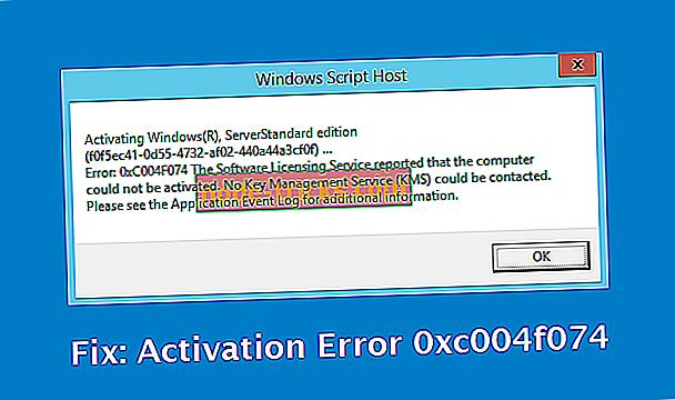 Javítás: Hibakód: 0x004F074 Megakadályozza a Windows aktiválását