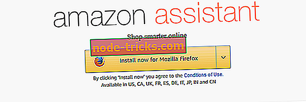 Full Fix: Amazon Assistant fortsetter å installere på Windows 10, 8.1, 7