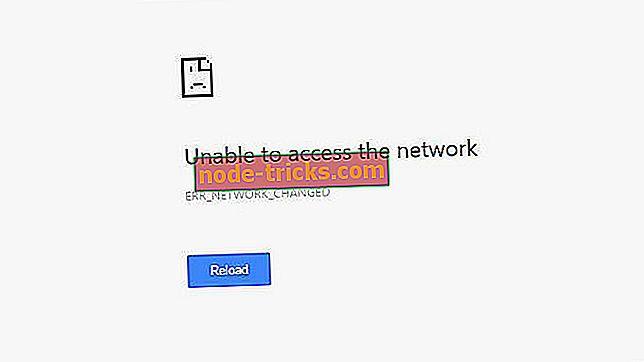 Løsning: En nettverksendring ble oppdaget feil på Windows 10