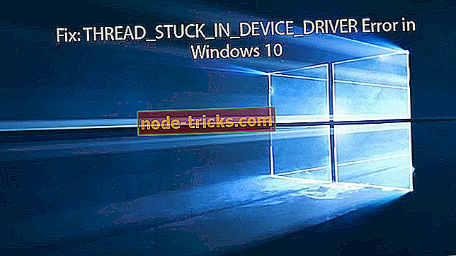 Fiks: Trekkstøt i DEVICE DRIVER feil i Windows 10