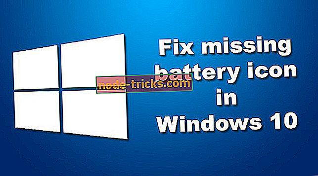 vinduer - Løsning: Manglende batteriikon i Windows 10