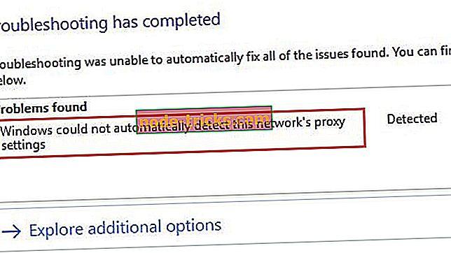"""Fix: """"Windows nu a putut detecta automat setările proxy ale rețelei"""""""