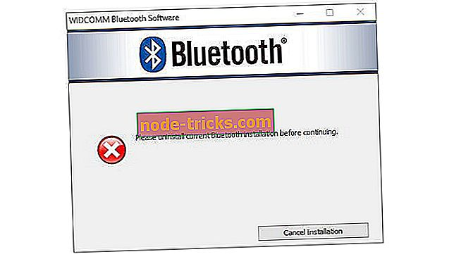"""Fix: """"Моля, деинсталирайте текущата инсталация на Bluetooth, преди да продължите"""""""
